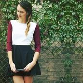 dress,burgundy,cute dress,casual dress,white,colorblock,black,formal dress,formal party dresses