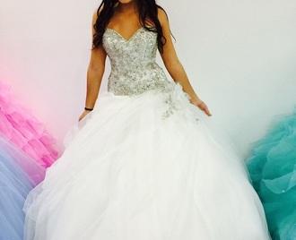 dress quinces quinceanera dress white dress
