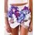 Flower Printed Skorts - Juicy Wardrobe