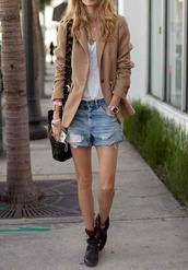 shoes,botte,le fashion image,shorts,sunglasses,jacket,t-shirt,jewels,bag,coat