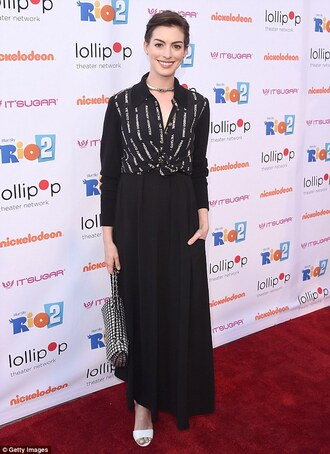 anne hathaway blouse