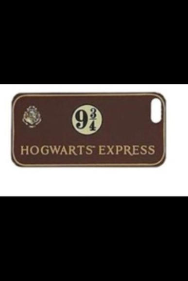 harry potter hogwarts phone case