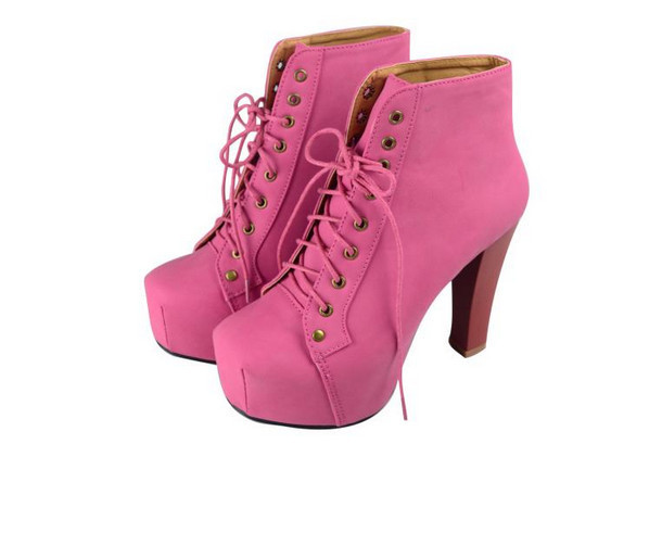 16 Styles Jeffrey Campbell 2013 Fashion Women High Heel Motorcycle Ankle Boots Lace Up Platform Martin Boots Womens Winter Shoes on Aliexpress.com