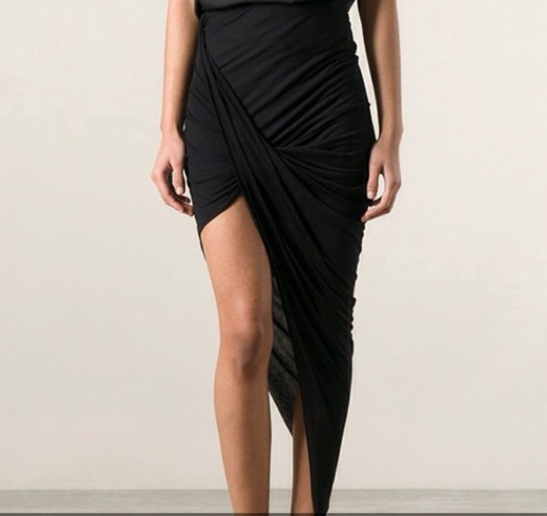 skirt asymmetrical skirt draped