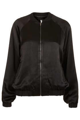 Lux Shine Bomber Jacket - Jackets & Coats  - Clothing  - Topshop
