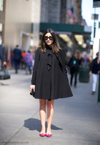 where did u get that blogger black coat