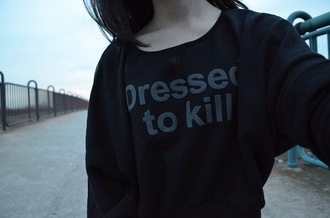 shirt black shirt grunge pale