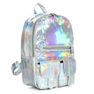 bag pastelkitty backpack holographic shiny