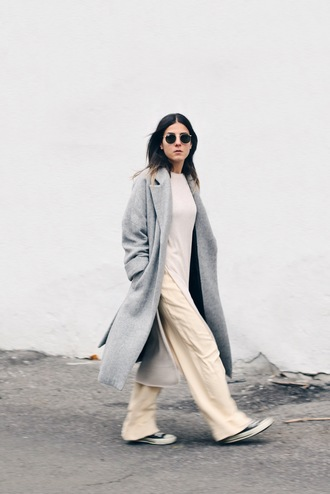 elif filyos blogger sweater dress pants coat