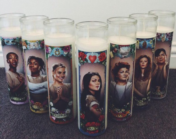 Stella Orange Is The New Black Candle