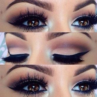 make-up colorful eye shadow