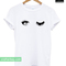 Eye mascara t-shirt