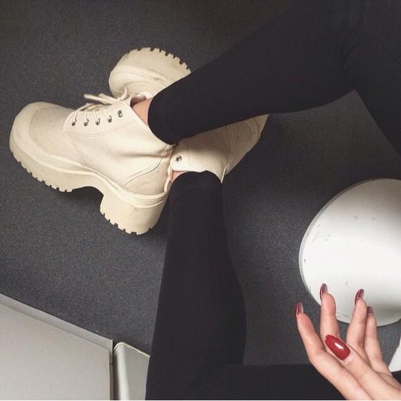 platform shoes boots