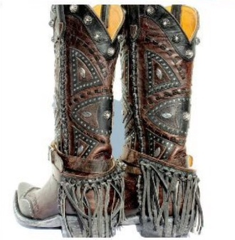 shoes girl cowboy boots country boots leather leather boots brown leather boots beautiful cool boho bohemian amazing lovely love western