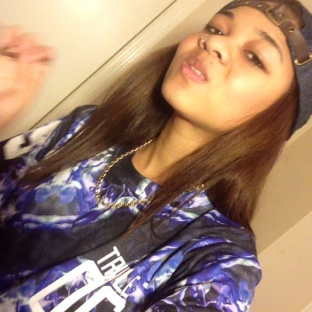 t-shirt wolftyla vine blue Wolftyla Clothing Line