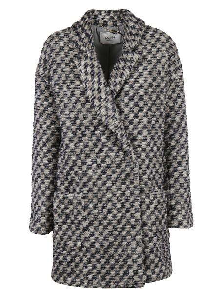 Blugirl coat black grey