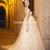 A Line Sweetheart Chapel Train Bow Flower(s) Tulle Maternity Wedding Dress 2014 - Gardeniasite