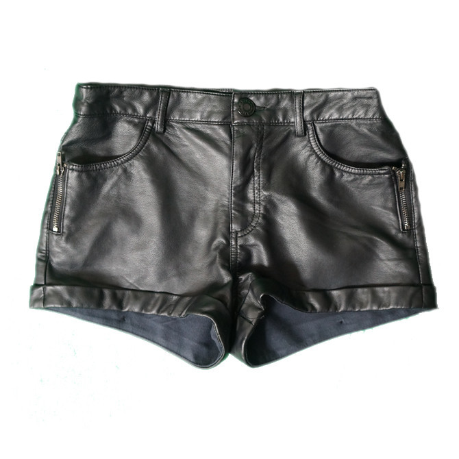 Faux Leather Shorts | Affordable Junior Clothing & Plus Sized Dresses | Shimmer