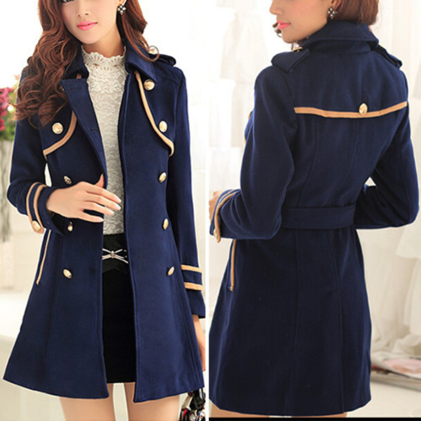 Coat: fashion, clothes, top, long coat, preppy, winter