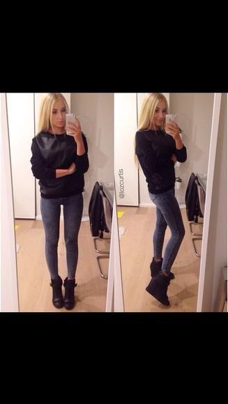 shoes black lozcurtis