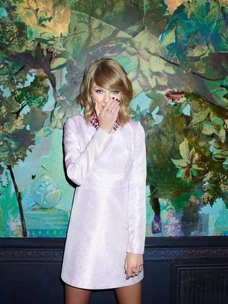 dress glitter dress glitter collar taylor swift collared dress