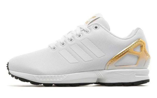 adidas shoes zx flux white