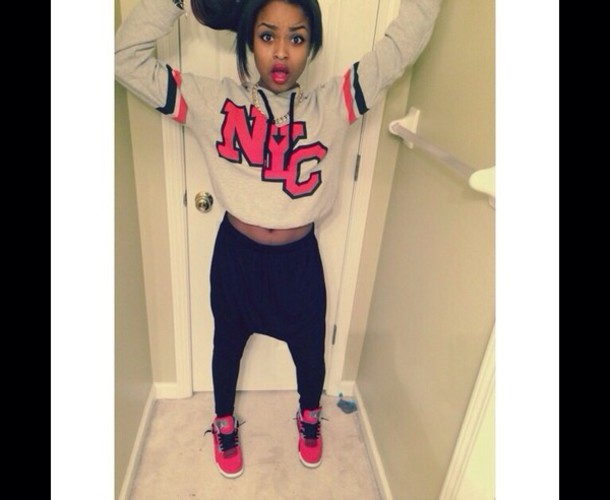 new york city joggers sweatpants nyla's nlyss shirt pants