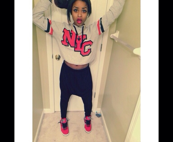 new york city joggers sweatpants nyla's nlyss shirt pants