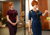 dress,mad men,christina hendricks