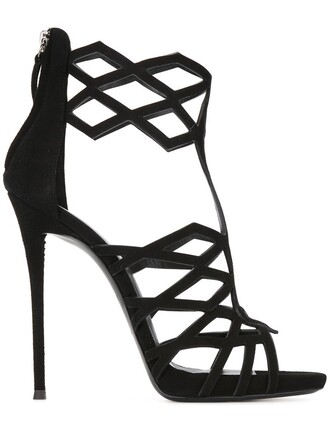 caged sandals caged sandals black shoes