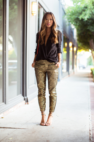 shoes pants bag blouse song of style