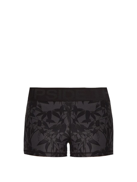 The Upside shorts print
