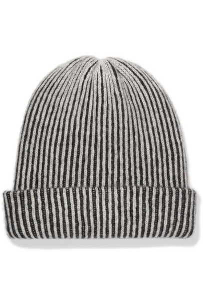 The Elder Statesman beanie black hat