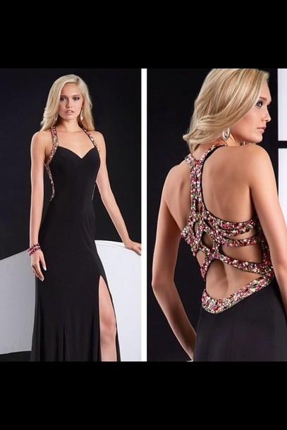 dress long prom dress prom dress black dress
