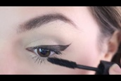 make-up,cutiepiemarzia,eyeliner,cat eye,how to,diy