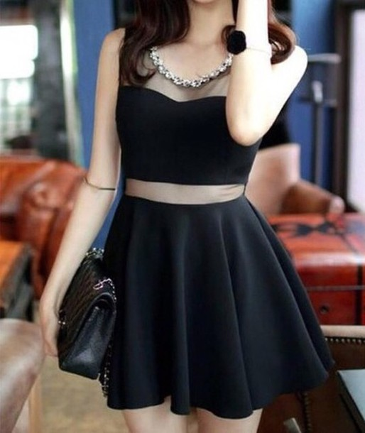 Dress: doublelw, little black dress, black dress, cute dress ...