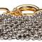 Alexander wang silver ball chain bracelet