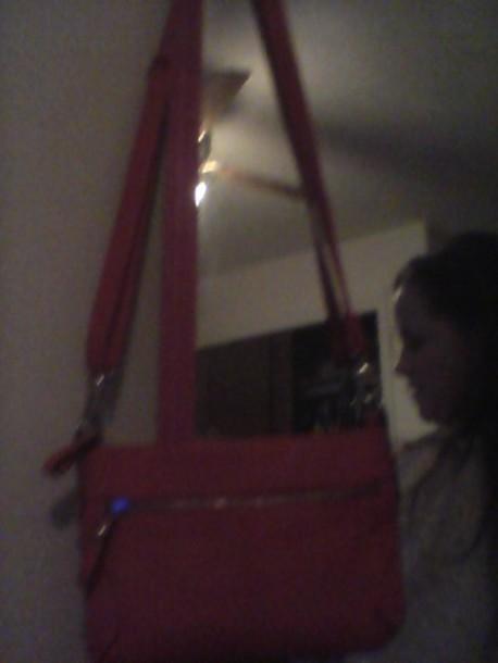 bag pink bag leather bag