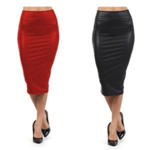 Leather pencil skirt · summah breeeze · online store powered by storenvy