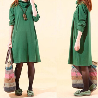 sweater clothing women autumn fasion green blouse