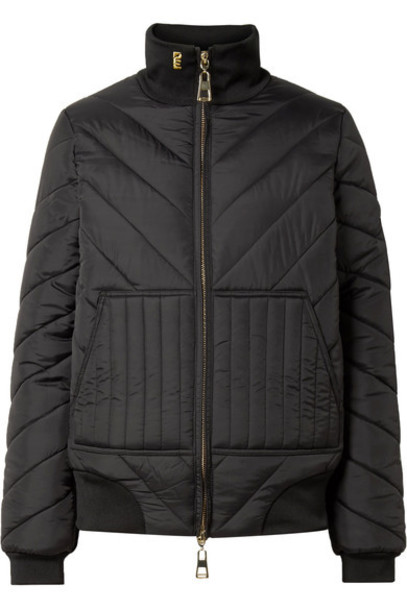 jacket shell quilted black