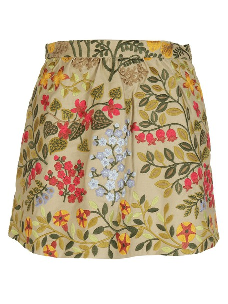 RED VALENTINO shorts floral