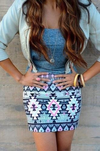 skirt pastel skirt printed printed skirt skinny skirt