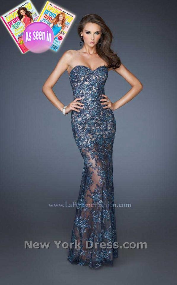 La Femme 18914 Dress - NewYorkDress.com
