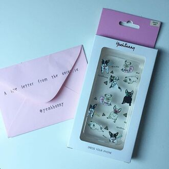 phone cover yeah bunny dog frenchie cute iphone case iphone cover dress your phone poop empji kawaii