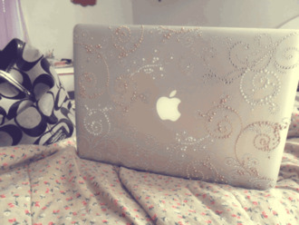 jewels macbook macbook air apple phone case sticker cases love it classy nude white laptop hard case blouse