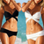 Ladies Sexy 2 PCS Black or White Women Swimwear Swimsuit Trikini Bikini Beachwear 1pcs/lot Free Shipping-in Bikinis Set from Apparel & Accessories on Aliexpress.com