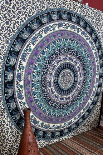 home accessory hippie tapestries wall tapestry mandala wall hanging queen bedcover bedding blanket beach beach throw psychedelic tapestry mandala