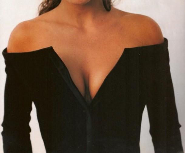 blouse top black shirt deep v v neck long sleeves button up shirt black top
