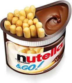 Nutella and GO! Snack - Case of 12 - 52g: Amazon.com: Grocery & Gourmet Food